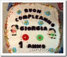 Torta compleanno Giorgia