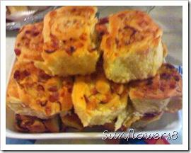 Torta di rose salame e formaggio