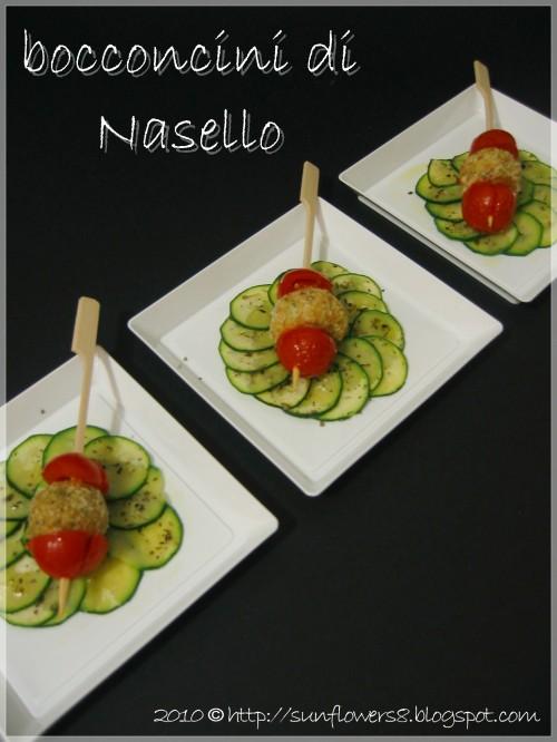 Bocconcini di nasello con zucchine