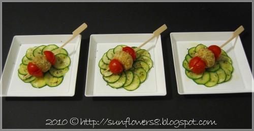 Bocconcini di nasello e zucchine