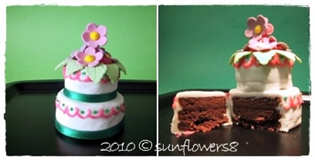 Mini wedding cake2