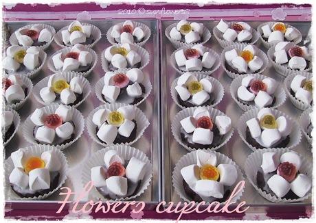 Flowers cupcake2