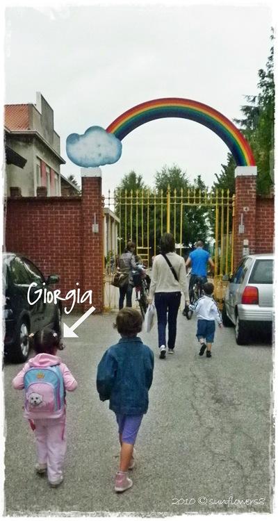 Giorgia e l'arcobaleno