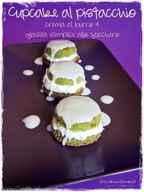 Cupcake al pistacchio_crema al burro