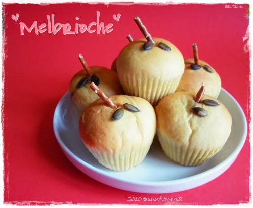Melbrioche_brioche alle mele e cannella