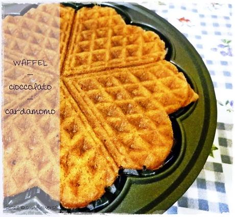 Ricetta waffel croccanti