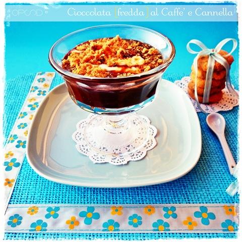 cioccolata fredda al caffè e cannella