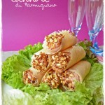 cannoli di parmigiano al prosciutto cotto - cannoli parmesan cooked ham -
