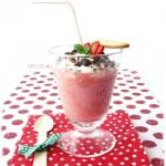 smoothie alla fragola - strawberry smoothie