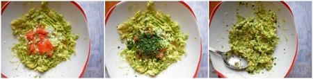Crostini carciofi e guacamole_tutorial