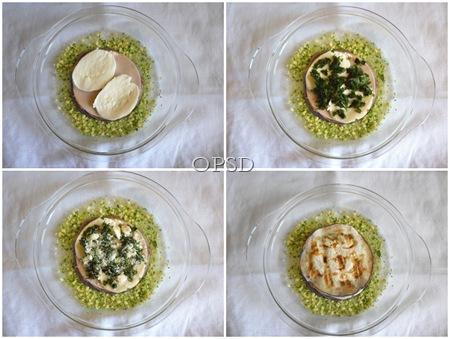 Parmigiana al pesto a modo mio_tutorial