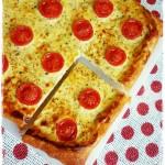 torta salata ricotta e pomodori - tart with ricotta and tomatoes