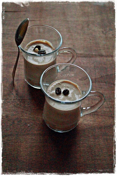 parfait al cappuccino e torrone
