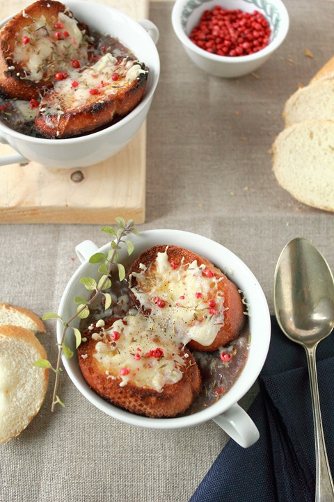 ricetta zuppa di cipolle, French onion soup recipe