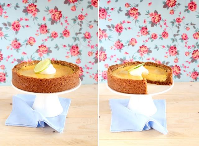 Torta al lime_key lime pie