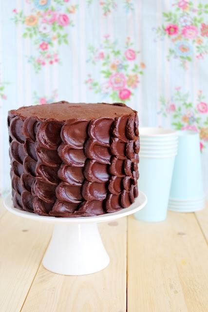 torta al cioccolato - chocolate layer cake