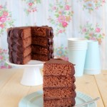 torta al cioccolato - chocolate layer cake