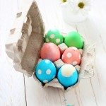 Uova a pois Easter Eggs with polka dots