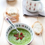 crema di piselli e mascarpone - Pea cream with mascarpone