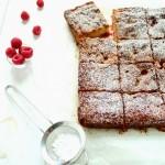 Blondies al cioccolato bianco e lamponi - Blondies with white chocolate and raspberries
