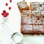 Blondies al cioccolato bianco e lamponi - Blondies with white chocolate and raspberries