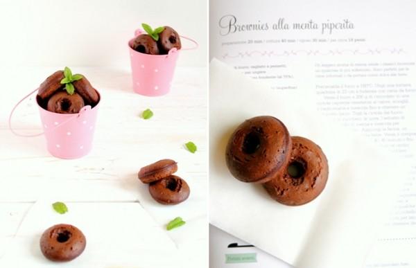 Ciambelle_Donuts_Brownies al cioccolato e menta