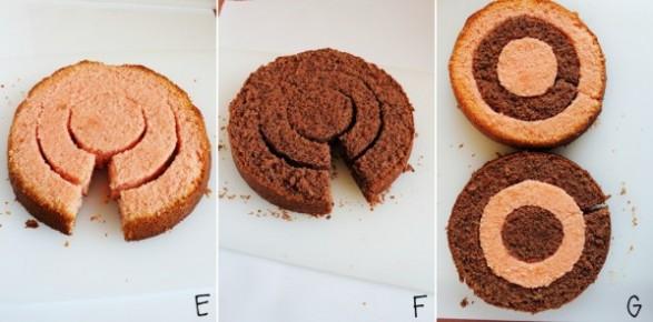 come fare la torta a scacchi - come fare la torta a scacchiera - come fare la checkerboard cake - checkerboard cake - how to make a checkerboard cake - strawberry and chocolate checkerboard cake - food photography - opsd blog - sonia monagheddu