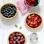 Crostata di fragole e frutti di bosco - Strawberry and berries tart