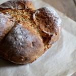 Soda bread ai semi di finocchio - Soda bread with fennel seeds