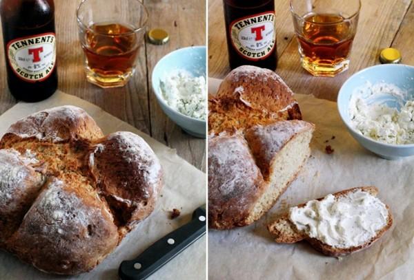 Soda bread con semi di finocchio