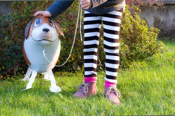 Giorgia e cane volante