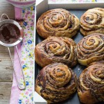 Panini dolci sfogliati al cacao - Cocoa sweet buns