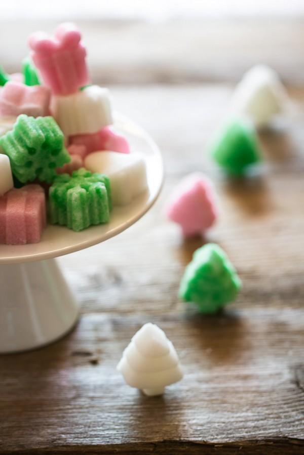 Flavoured and coloured sugar cubes - come fare le zollette di zucchero colorate e aromatizzate