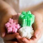 Zollette di zucchero aromatizzate - Tutorial for home made natural sugar shapes