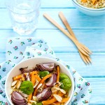 RISO PILAF CON VERDURE AL FORNO - PILAF RICE AND ROASTED VEGETABLES - PILAF RICE