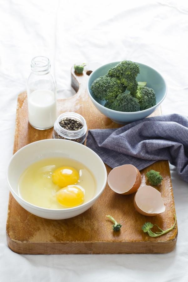 Torta salata broccoli e salmone, Salmon and broccoli tart recipe