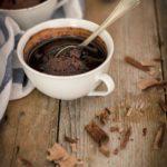 Ricetta torta in tazza al cioccolato e caffè