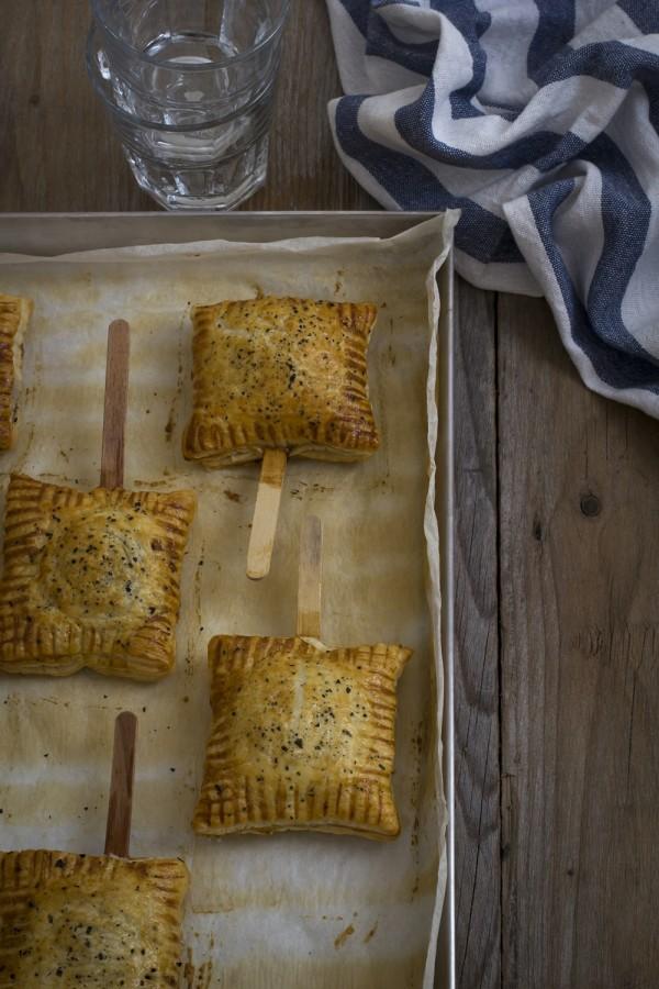 Fagottini di sfoglia - Baked brie bites