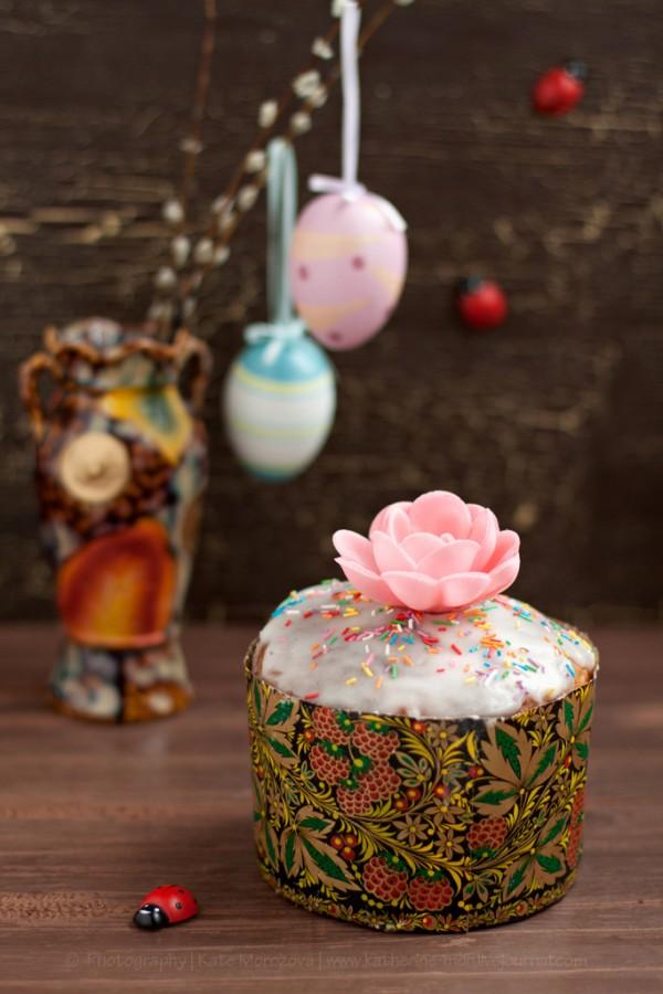Kulich pane dolce russo per Pasqua