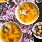 Le uova: crème brulée e budino di riso [Guest post]