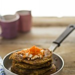 Pancake alle carote - Carrots pancakes