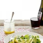 Insalata di pere e feta - Pear and feta salad