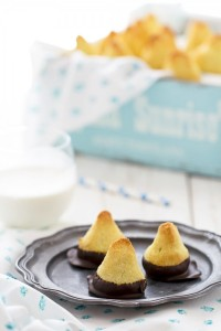 Biscotti al cocco, cioccolato e lime - Coconut lime chocolate biscuits cookies