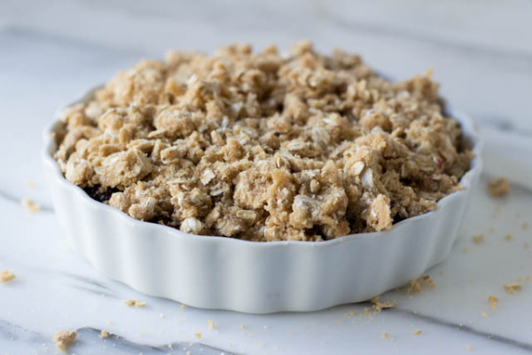 Crumble di more