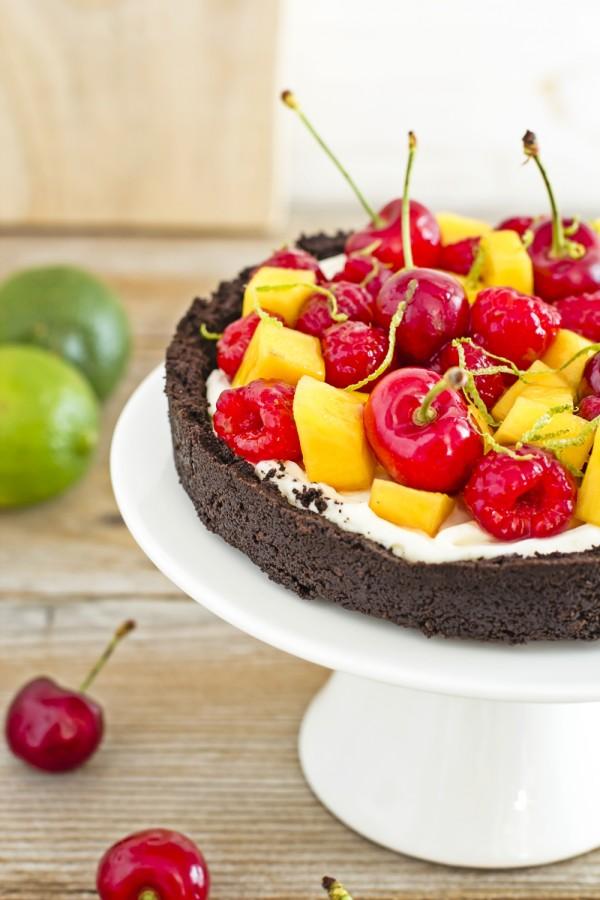 cheesecake alla frutta senza cottura