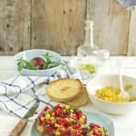 Friselle con pomodorini - Friselle with cherry tomatoes
