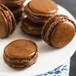 Macarons - how to do - come fare i macarons al cioccolato - ganache cioccolato - Chocolate macarons -