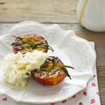Pesche noci grigliate - grilled nectarines recipe