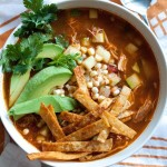 Zuppa di pollo con tortillas - guest post - Chicken Tortilla Soup