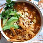 Zuppa di pollo con tortillas - guest post - Chicken Tortilla Soup